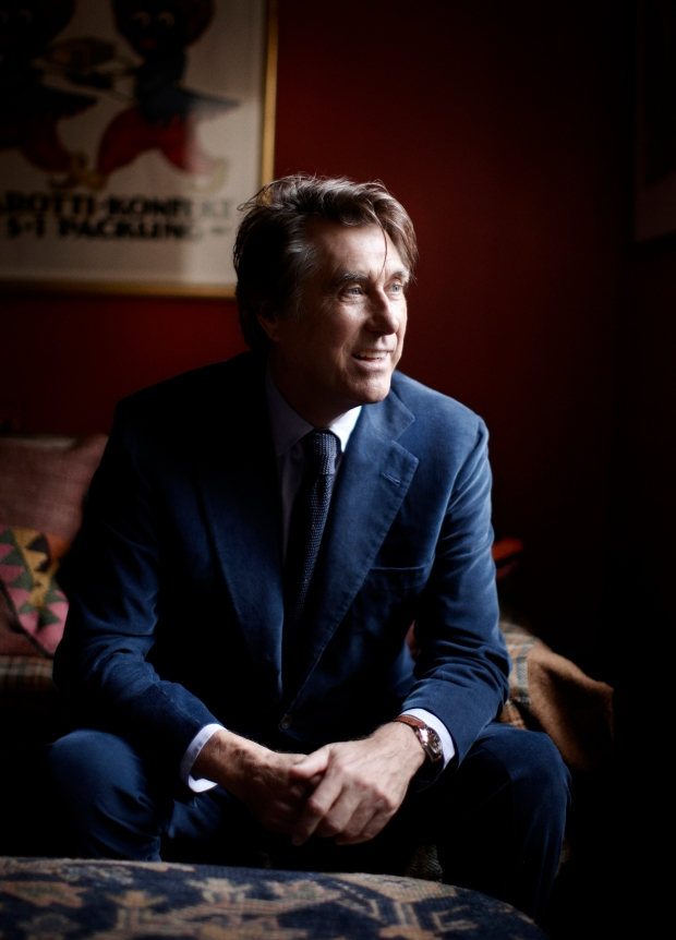Bryan Ferry (Photo by Adam Whitehead, courtesy of Press Here)
