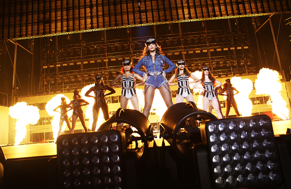 SEATTLE, WA - JULY 30: Beyonce performs on the On The Run Tour at Safeco Field on Wednesday, July 30, 2014, in Seattle, Washington. (Photo by Mason Poole/Parkwood Entertainment/PictureGroup).